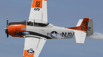 N2215D - North American T-28C Trojan - Private