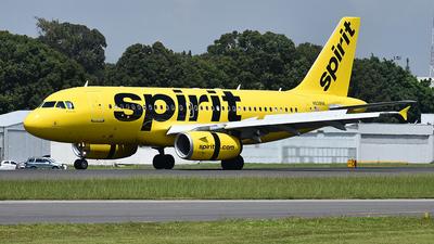 N528NK - Airbus A319-132 - Spirit Airlines