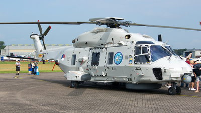 N-325 - NH Industries NH-90NFH - Netherlands - Navy