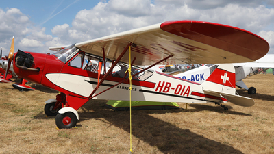 A picture of HBOIA - Piper J3C65 Cub - [AF 36506] - © AviaStar Photography