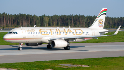 A picture of A6EIX - Airbus A320232 - Etihad Airways - © Max Litvinko