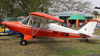 PP-GEM - Aero Boero AB115 - Aeroclube de Resende
