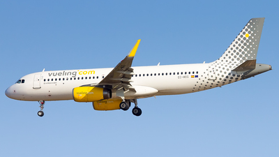 A picture of ECMXG - Airbus A320232 - Vueling - © Inaki Ropero Pipaón
