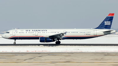 N575UW - Airbus A321-231 - US Airways