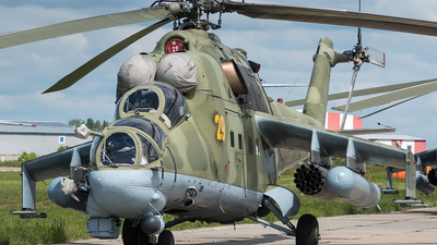 RF-94979 - Mil Mi-24P Hind F - Russia - Air Force