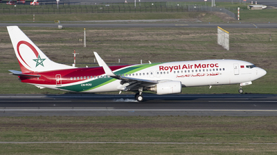 A picture of CNROU - Boeing 7378B6 - Royal Air Maroc - © Rod Beaux