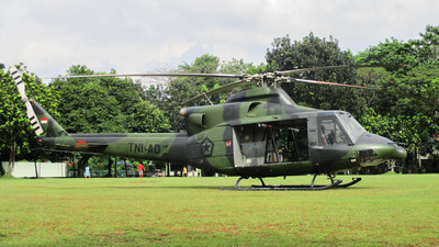 HA-5173 - Bell 412EP - Indonesia - Army