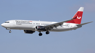 A picture of VPBSC - Boeing 7378KN - Nordwind Airlines - © Tony Goldin