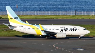 JA12AN - Boeing 737-781 - Air Do (Hokkaido International Airlines)