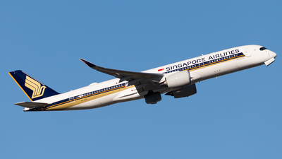 9V-SHT - Airbus A350-941 - Singapore Airlines