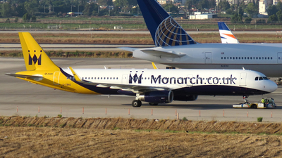 G-ZBAD - Airbus A321-231 - Monarch Airlines