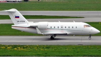 RA-67216 - Bombardier CL-600-2B16 Challenger 604 - Tatarstan Airlines