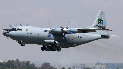 JW-9035 - Shaanxi Y-8F-200 - Tanzania - Air Force