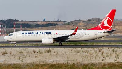 TC-JHU - Boeing 737-8F2 - Turkish Airlines