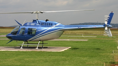 ZS-HKF - Bell 206B JetRanger III - Private
