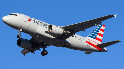 A picture of N714US - Airbus A319112 - American Airlines - © Evan Dougherty