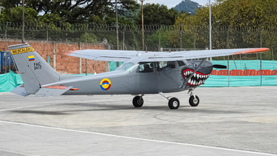 FAC2417 - Cessna T-41 Mescalero - Colombia - Air Force
