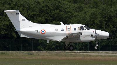 103 - Embraer EMB-121AA Xingú - France - Air Force