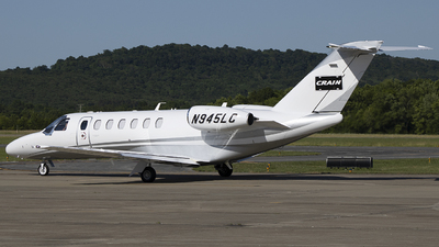N945LC - Cessna 525B CitationJet 3+ - Private