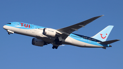 A picture of GTUIH - Boeing 7878 Dreamliner - TUI fly - © n94504