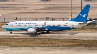 A picture of B5532 - Boeing 73785C - Xiamen Air - © SnowMiku39