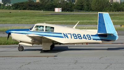 N79849 - Mooney M20E - Private