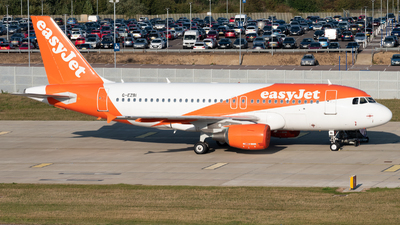 A picture of GEZBI - Airbus A319111 - easyJet - © Frankie A Said