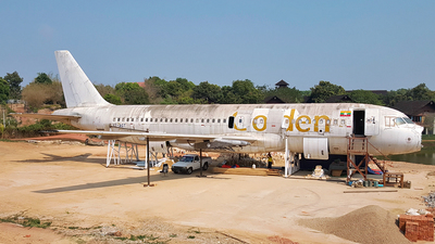 XY-AGT - Airbus A320-232 - Golden Myanmar Airlines