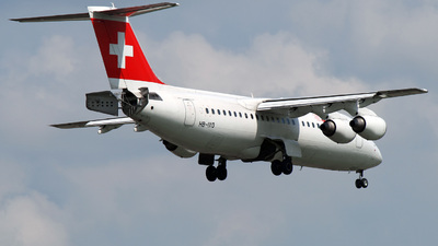 HB-IXO - British Aerospace Avro RJ100 - Swiss