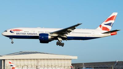A picture of GVIIC - Boeing 777236(ER) - British Airways - © Frankie A Said