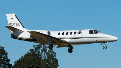 A picture of N217SA - Cessna 550 Citation II - [5500217] - © Russell Hill