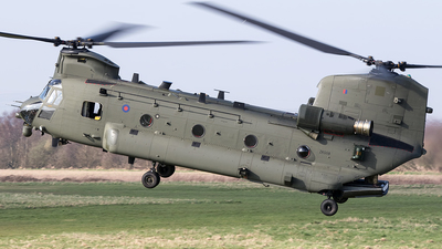 ZK558 - Boeing Chinook HC.6 - United Kingdom - Royal Air Force (RAF)