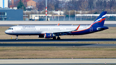 A picture of VPBKZ - Airbus A321211 - Aeroflot - © JakkoFly