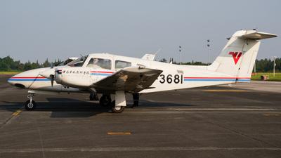 B-3681 - Piper PA-44-180 Seminole - Civil Aviation Flight University of China