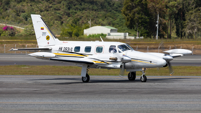 HK-2631-G - Piper PA-31T Cheyenne II - Colombia - Ministry of Transportation