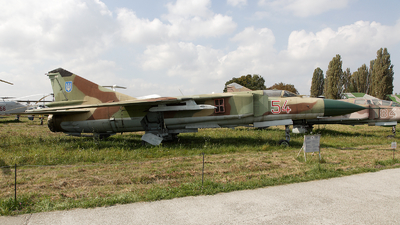 54 - Mikoyan-Gurevich MiG-23ML Flogger G - Ukraine - Air Force