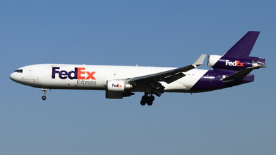 A picture of N619FE - McDonnell Douglas MD11F - FedEx - © NRT Spotter