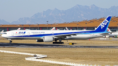 A picture of JA791A - Boeing 777381(ER) - All Nippon Airways - © Crazy XuePangpang