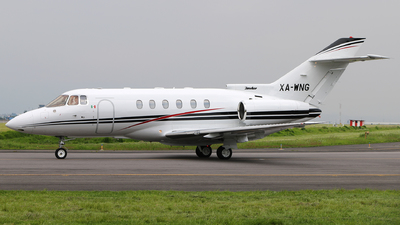 XA-WNG - Hawker Beechcraft 800XP - Private