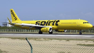 N676NK - Airbus A321-231 - Spirit Airlines