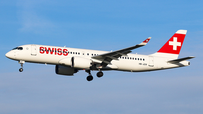 A picture of HBJCR - Airbus A220300 - Swiss - © BaszB