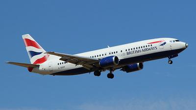 G-DOCF - Boeing 737-436 - British Airways