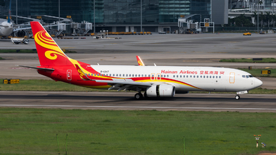 A picture of B1347 - Boeing 73786N - Hainan Airlines - © Lazy Clutch