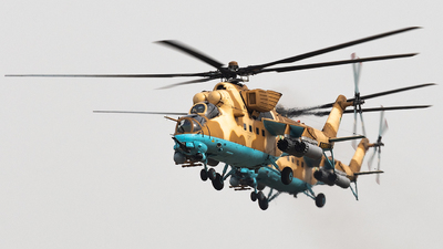786-802 - Mil Mi-35M Hind - Pakistan - Army Aviation
