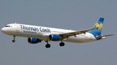 OY-VKB - Airbus A321-211 - Thomas Cook Airlines Scandinavia