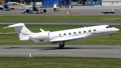 LX-SIX - Gulfstream G650 - Private