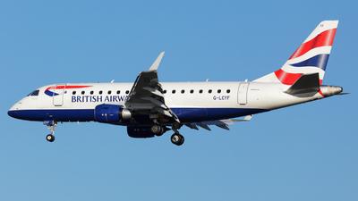 G-LCYF - Embraer 170-100STD - BA CityFlyer