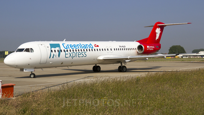 PH-MJP - Fokker 100 - Greenland Express