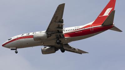 B-2913 - Boeing 737-76D - Shanghai Airlines