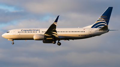 A picture of HP1846CMP - Boeing 7378V3 - Copa Airlines - © Eric Esots